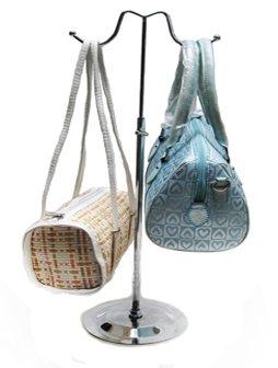 Yudu Taschenständer Schmuckständer 2 Haken höhenverstellbar Kettenständer Chorm