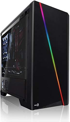 Shinobee Gaming PC mit 3 Jahren Garantie! AMD Ryzen 5 2600X 6X 4.2 GHz, NVIDIA GTX 1650 4GB, 16 GB DDR4, 256GB SSD, Windows 10 Pro 64bit, MS Office #6557