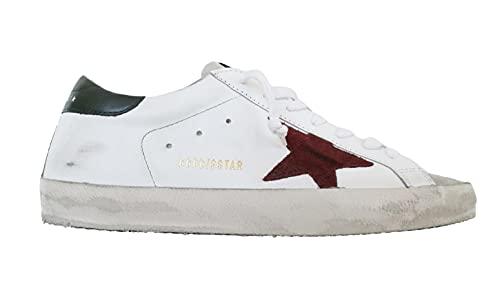 Golden Goose Scarpe Sneakers Uomo Vintage Superstar GMF00101.F000338.80303 Ice (Numeric_45)