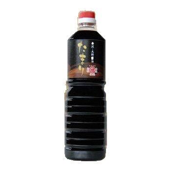 橋栄醤油みそ まるはたまり醤油 1L×3本