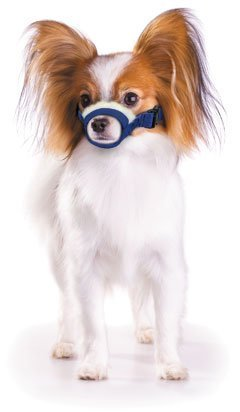 KEKLLEABCD Cozy Quick Muzzle Four Flags X-Small, Blue