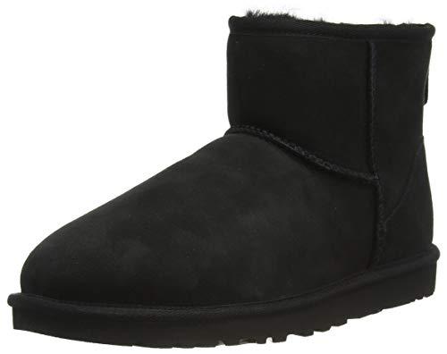 UGG Herren M Classic Mini Klassische Stiefel, Black, 60 EU