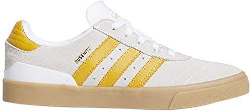 ADIDAS Skateboarding Busenitz Vulc Cloud White Yellow (43 1/3 EU, Cloud White Yellow)