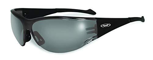 Motorrad-Sonnenbrille/bikerbrille mit Gummi Trinkgeldes Bögen für EIN leichtes Einführen Während das Tragen eines Helmes mit kostenlosem Mikrofaser-Beutel