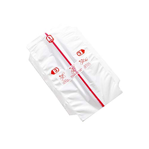 100 bolsas de embalaje de bolas de arroz Onigiri + pegatinas de sellado, bolsa de embalaje de bolas de arroz triángulo de doble capa