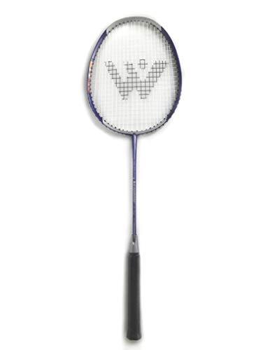 Rayline Sport Serie - Badminton Schläger BD001 für Erwachsene (Farbe: Silber/Lila), Gesamtlänge: ca. 66 cm - Gewicht: 100g / passend für Anfänger und Gelegenheitsspieler