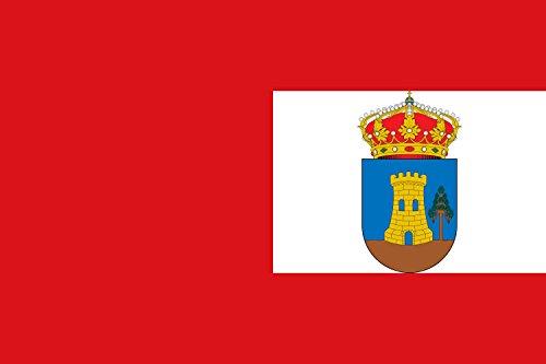 magFlags Bandera Large Rectangular de Proporciones 2 3, Dividida en Dos Bandas Verticales en proporción 1 2. La del asta roja | Bandera Paisaje | 1.35m² | 90x150cm