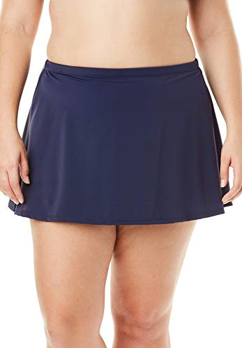 SWIMSUITSFORALL Swimsuits for All Women's Plus Size Skirt 34 Blue