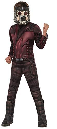 Rubies - Disfraz Oficial de Los Vengadores Star Lord, tamao Grande, Edad 8  10, Altura 147 cm