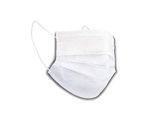 Mondbescherming Premium Soft 2-laags (50 stuks) adembescherming filtermasker OP masker wegwerp
