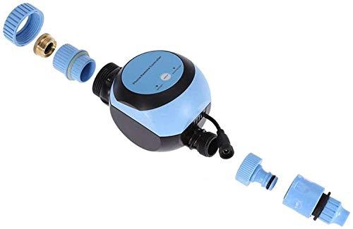 Programador de Riego Automatico Temporizador Inteligente grifo de la manguera temporizador con conexión Wi-Fi Hub Programación de teléfono Controlador de Aspersión automática del sistema de riego Jard