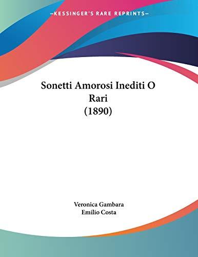 Sonetti Amorosi Inediti O Rari (1890)