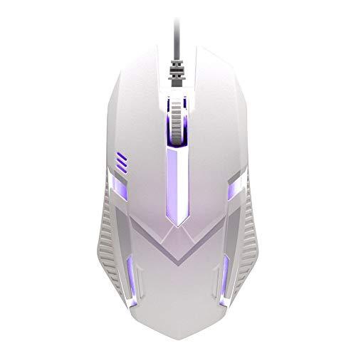 RGB Lighting Gaming Mouse Ratón de alto rendimiento con cable USB Ratón...