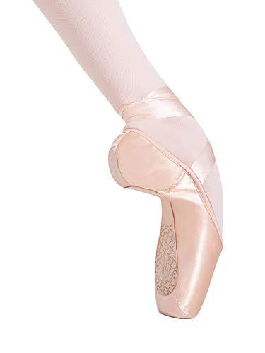 Capezio Cambre Broad Toe #4 Shank Pointe Shoe - Size 8.5M, Petal Pink