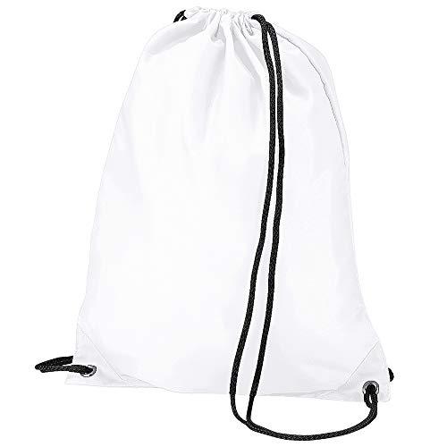 Bag Base - Sac à dos avec cordon de serrage (Taille unique) (Blanc)