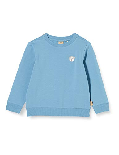 Bellybutton mother nature & me Baby-Jungen 1/1 Arm Sweatshirt, Blau (Blue Heaven|Blue 3173), (Herstellergröße: 86)