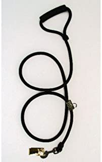 Timberwolf Alpine Rope Dog Leash ~Black~ 7/16