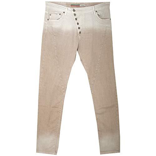 Please, P46M, Damen Damen Jeans Hose Twill Stretch Old Silk XX-Small [21629]