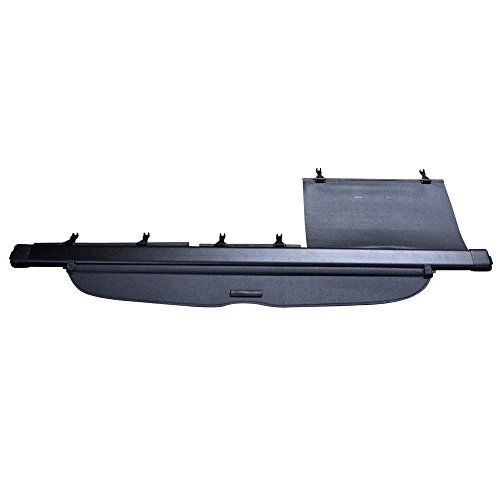 Cargo Cover Compatible With 2007-2011 Honda CRV, Factory Style Black Retractable Rear Security Trunk Cover by IKON MOTORSPORTS, 2008 2009 2010