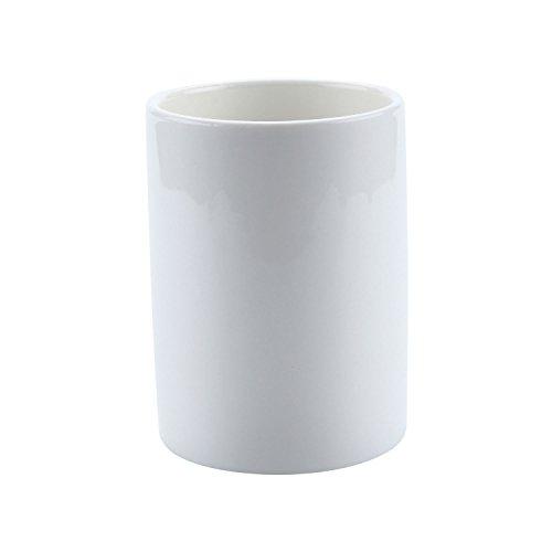 T4U 7CM 陶器鉢 白 円筒 植木鉢 多肉植物 サボテン鉢 竹トレイ付き 2個