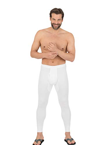 Trigema 6852102 Bas Thermique, Blanc (001), L (Lot de 2) Homme