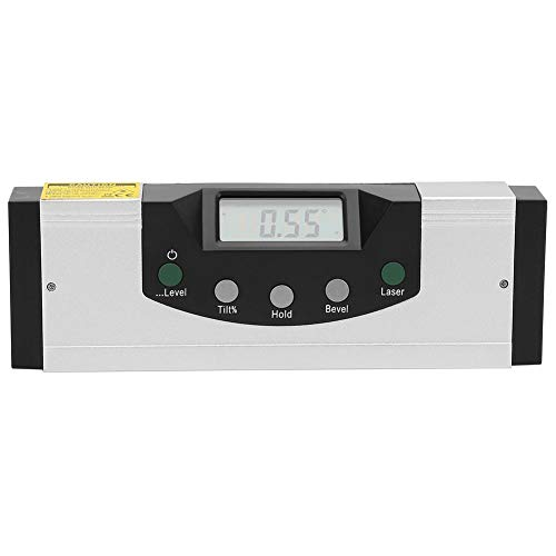Red Laser Magnetic Level Ruler Digital...
