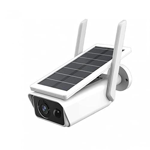 Mini cámara, cámara solar wifi Cámara impermeable de vigilancia de seguridad IP de 1080P con batería