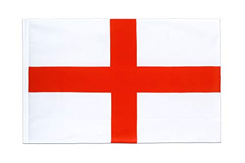 Maan Messen 12 ''x18'' Engeland St. George Cross Sleeve Vlag Boot Auto Tuin - Feestdecoratie benodigdheden voor Parades - Prime Outside, Tuin, Mannen Cave Decor Vlag