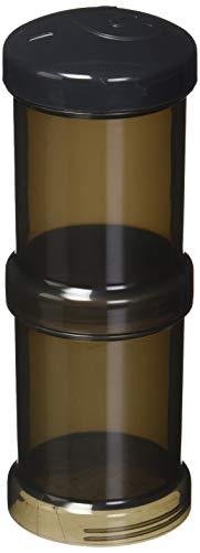 Twistshake - Pack 2 dosificadores de leche en polvo (100 ml.) negro