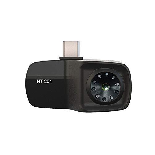 Infrarood warmtebeeldcamera voor Android USB Thermal Infrared Imager mobiele telefoon type C Thermal Imager Mini mobiele telefoon warmtebeeldcamera met hoge nauwkeurigheid golflengte 8-14μm HT-201
