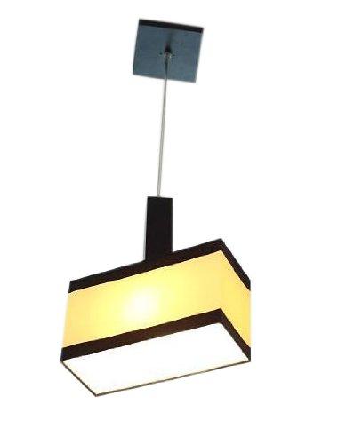 wero Design Lustre Suspension Lampe suspension de Bilbao de bandes 011/crème/marron