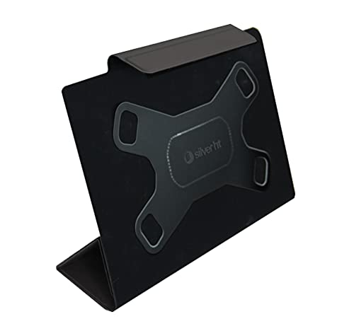 Silver HT - Funda Universal Slim Camera Pro Black Forest para Tablets de 9 a 11 Pulgadas con función Soporte, función Auto Apagado. Tapa Plegable para Realizar Fotos con Cualquier Tablet