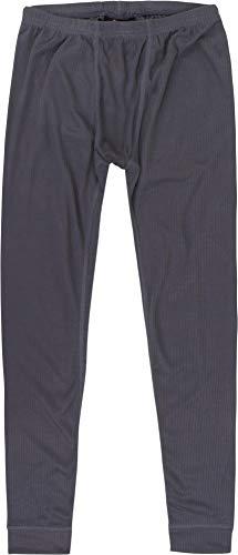 normani Outdoor Sports Kinder Thermohose für Jungen und Mädchen aus Quick-Dry-Funktionsmaterial- Lange Unterhose aus ÖkoTex100 Farbe Anthrazit Größe 164