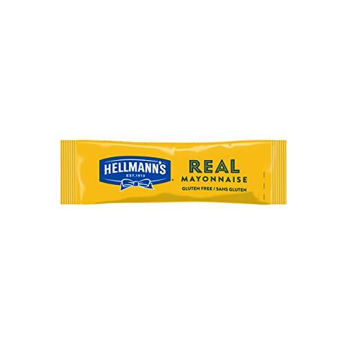 Hellmann's Real Mayonnaise Portionsbeutel (mit Eiern aus Freilandhaltung) 1er Pack (198 x 10 ml)