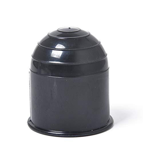 Universal 50mm Anhängerkupplung Ball Abdeckkappe Anhängerkupplung Caravan Trailer Anhängerkupplung Schützen Anhängerkupplung Ball Abdeckung (schwarz) DEjasnyfall