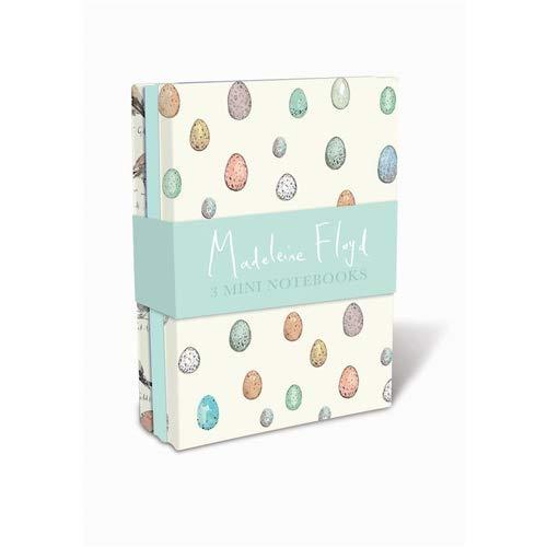 Lang Companies, Madeleine Floyd Birdsong Mini Notebook, Set of 3