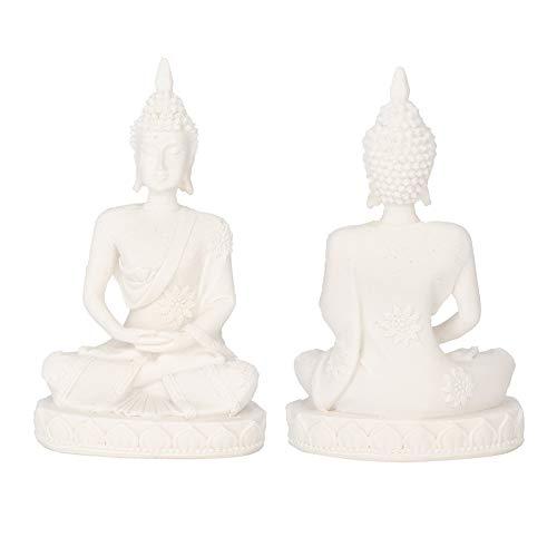 Buddha Statue Kleines Gold Meditieren Sitzen Carving Figur Handwerk Skulptur für Home Office Dekoration Tisch Ornament(2 #)