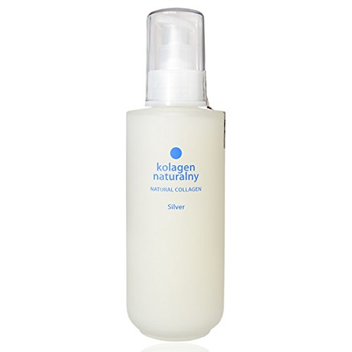Colway COLLAG?NE NATUREL ARGENT Soins Organique de la peau corporal Massage revitalisant Lisse les Rides et les Vergetures (200ml)