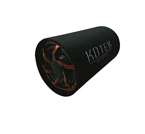 KDTEK 12 Inch Bass Tube with in-Built Amplifier, KD4800BT 4800 Watts (Black)