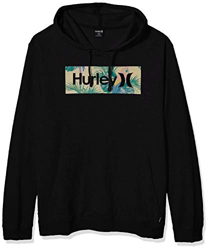 Hurley M O&O Boxed Sierra Pullover Sudaderas, Hombre, Black, M