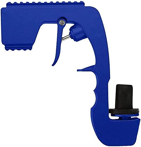 Pistola de champán Bubbly Blaster, vertedor de aireador de vino, eyector de cerveza de botella de fuente (Azul)