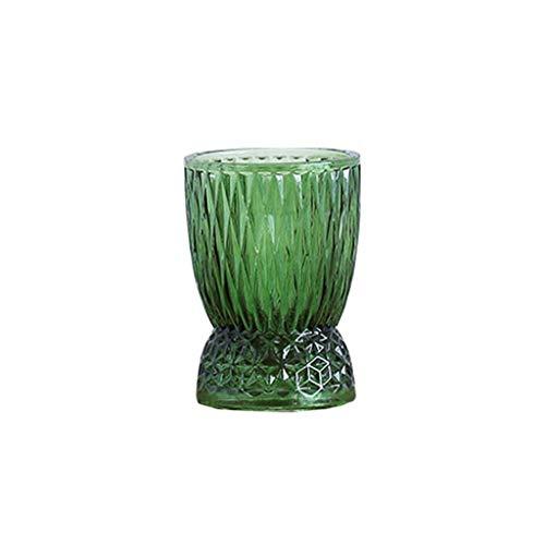 Z-W-DONG 2 kleuren decoratieve vaas, kan multifunctionele Bloemstuk Vaas Hydroponic Plant Bottle Worden Gebruikt Als Kandelaar Makkelijk te gebruiken (Size : 10.5 * 10.5 * 15CM)