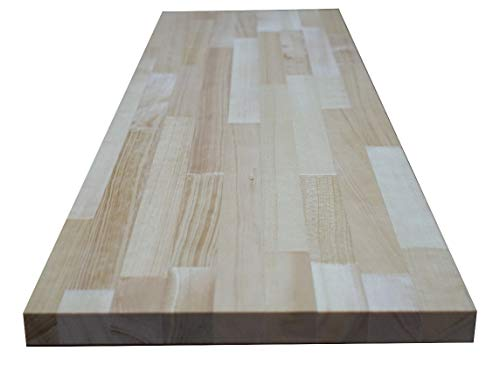 パイン集成材 【4色×150サイズから選べる】 25×500×800mm 無塗装 カット対応 DIY 棚 テーブル 木材 板 BRIWAX ブライワックス
