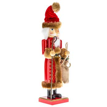 Santa Claus Nutcracker Christmas Mantel Decoration Gift 14""