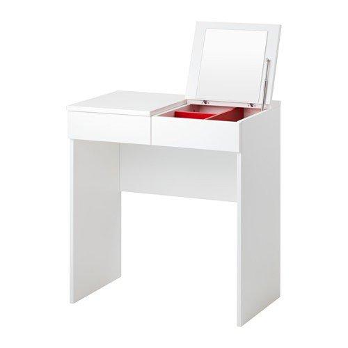 IKEA BRIMNES Frisiertisch in weiß; (70x42cm)