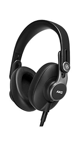 AKG K371 Geschlossener Over-Ear-Studiokopfhörer zum Zusammenklappen