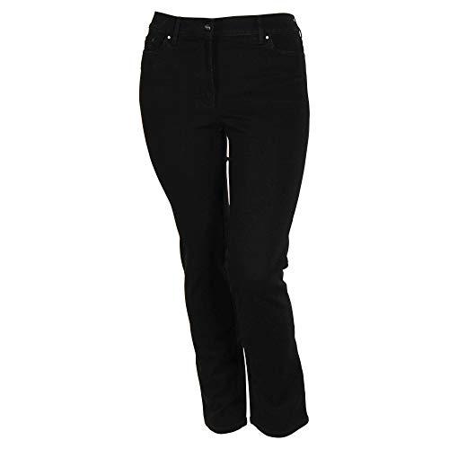 Zerres Jeans Cora Größe 48, Farbe schwarz