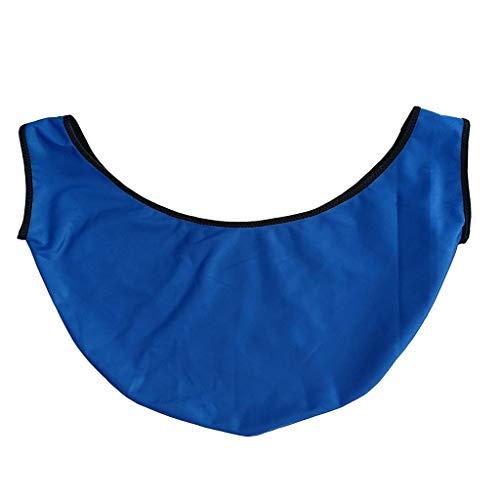perfk Bowling Ball Polisher Poliertuch Poliersack Bowlingkugel Tragetasche Reinigungssack Balltasche Sack Bag - Blau