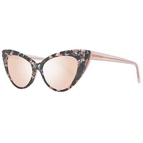Guess by Marciano Sonnenbrille Gm0784 56U 53 Gafas de sol, Beige, 53.0 para Mujer