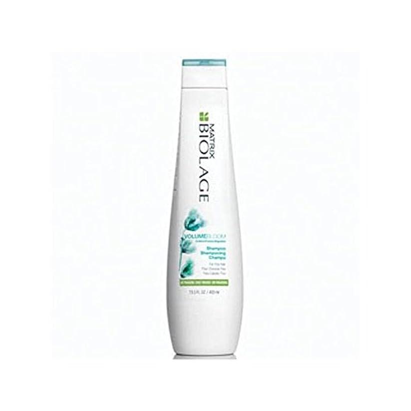 粘着性センブランスクリスマスMatrix Biolage Volumebloom Shampoo (400ml) - マトリックスバイオレイジのシャンプー(400ミリリットル) [並行輸入品]